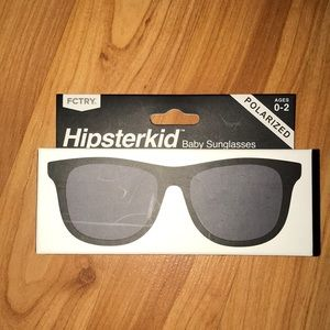 Hipster kids sunglasses